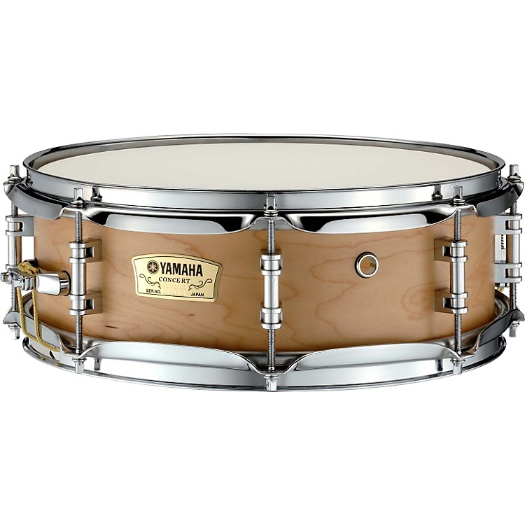 Yamaha CSM Series Concert Snare Drum Natural Maple 13 In