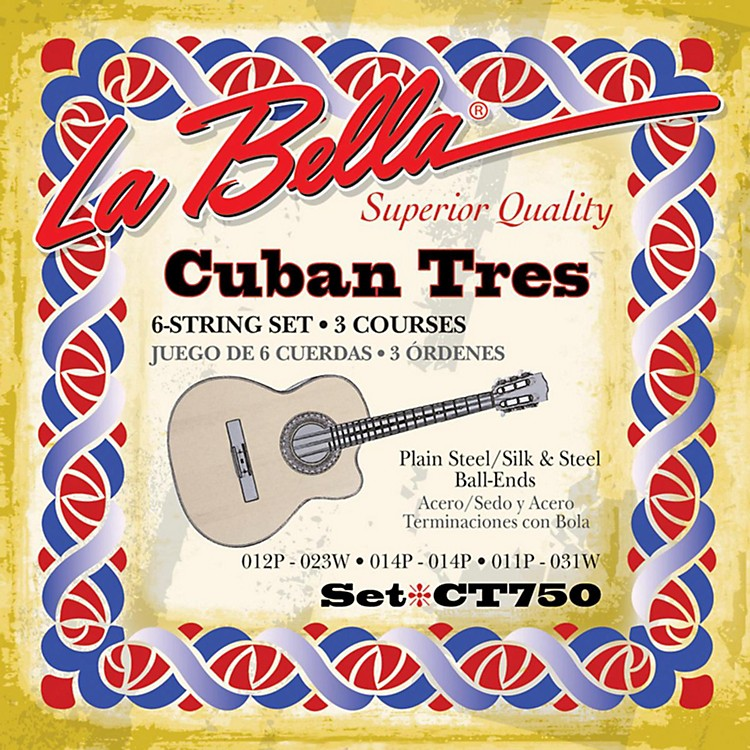 LaBellaCT750 Cuban Tres Strings