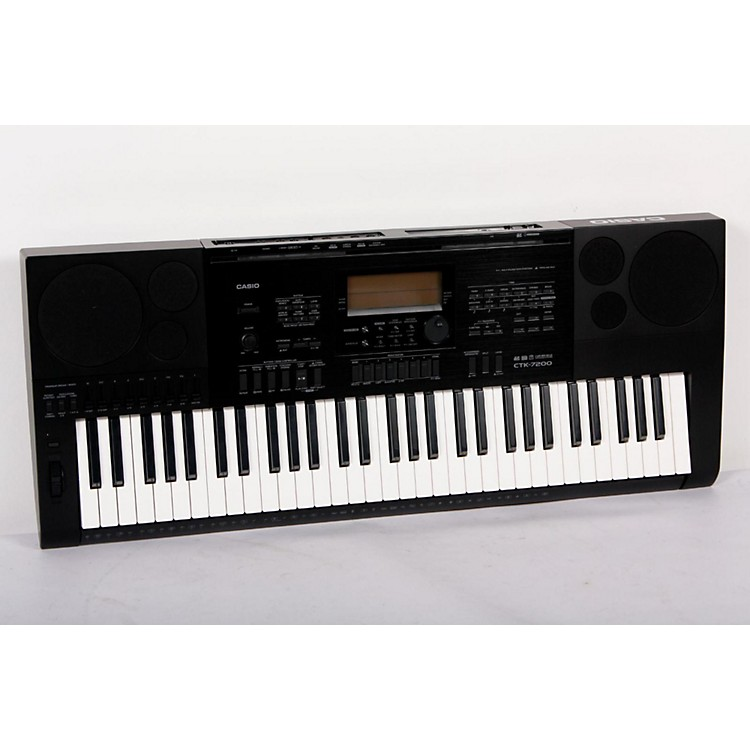 Casio CTK-7200 61-Note Portable Keyboard  888365802701
