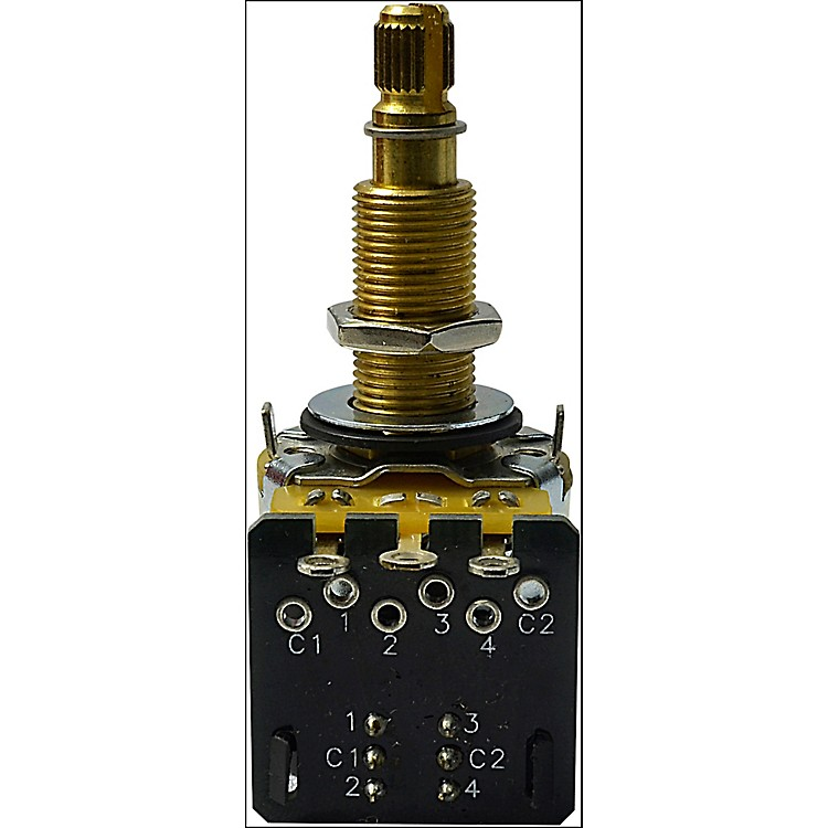 MojotoneCTS 500K Long Shaft DPDT Push-Pull Potentiometer