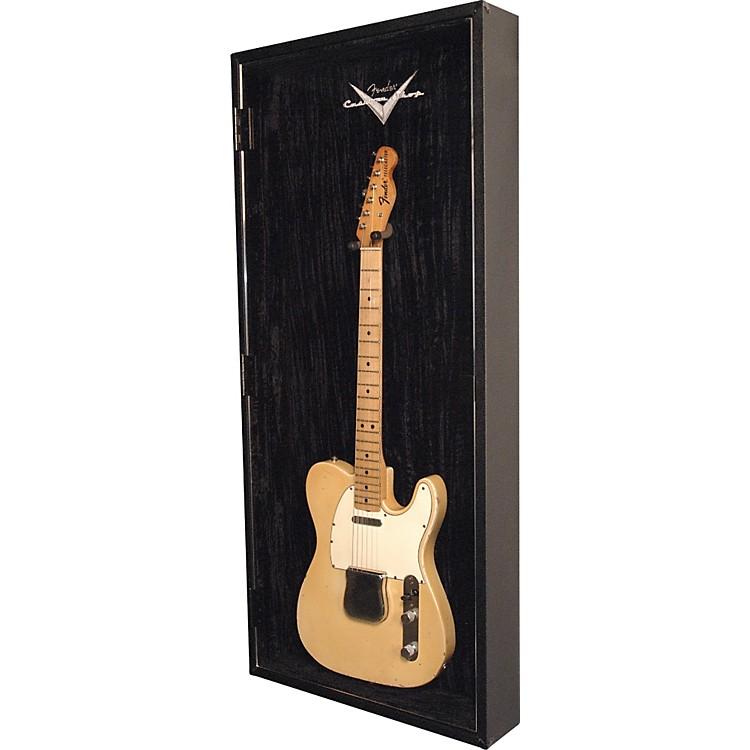 fender custom shop hard top guitar display case music123. Black Bedroom Furniture Sets. Home Design Ideas