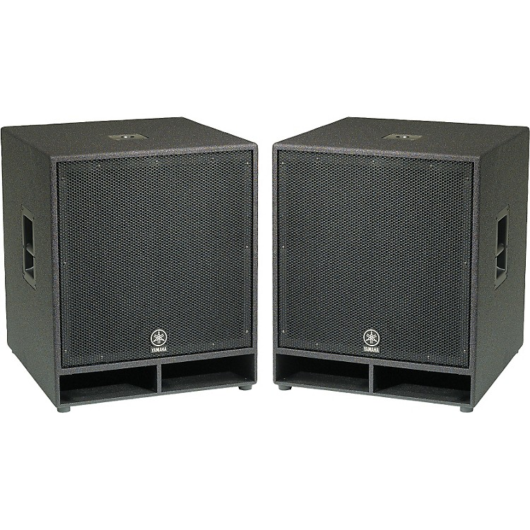 YamahaCW118V 18 In. Club Concert Series Subwoofer Pair