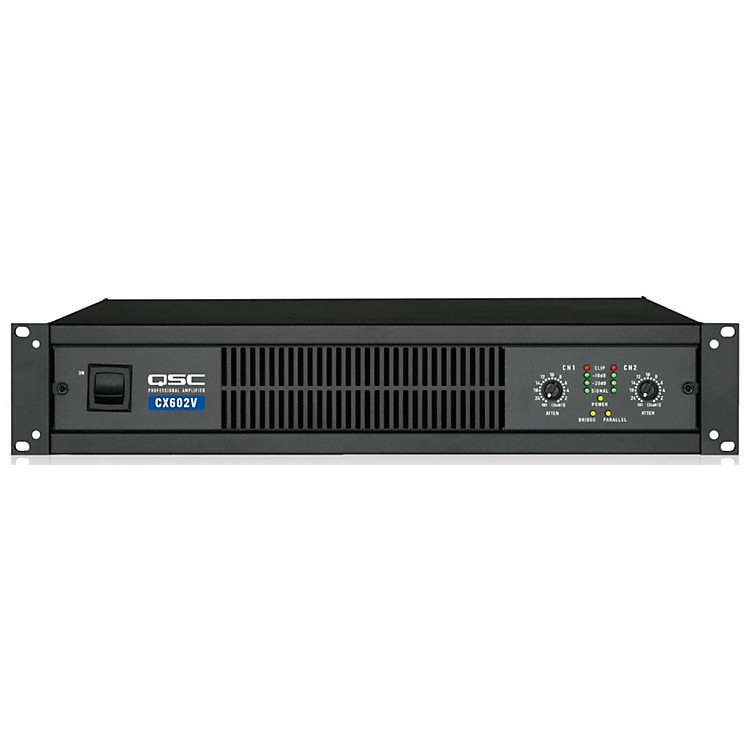 QSC CX602V Stereo Power Amp