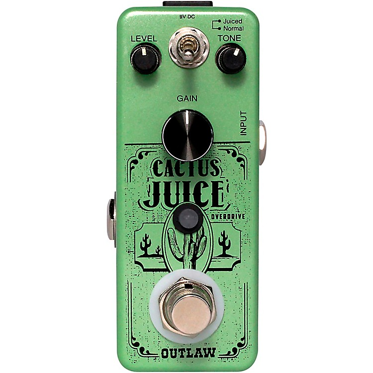 Outlaw EffectsCactus Juice Overdrive Effects Pedal