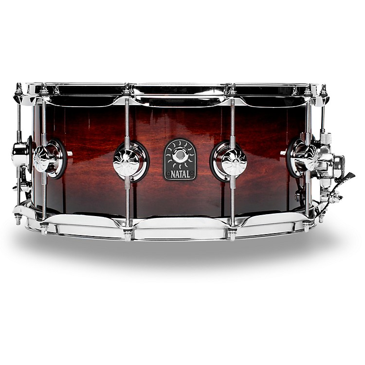 Natal Drums Cafe Racer Exotic Tulip Snare Drum 14 x 6.5 in. Exotic Burst