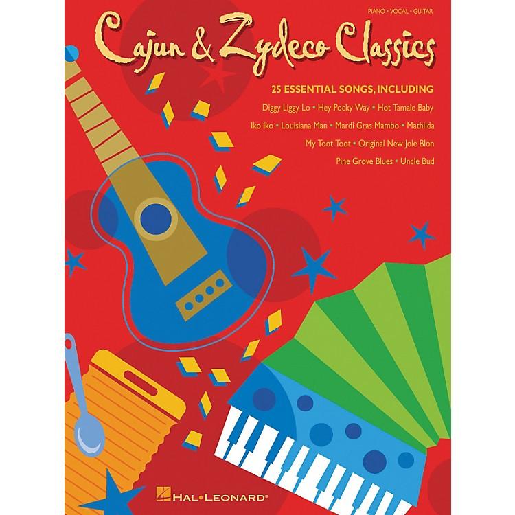 Hal LeonardCajun and Zydeco Classics Piano/Vocal/Guitar Songbook