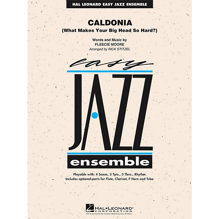 Hal Leonard Caldonia - Easy Jazz Ensemble Series Level 2