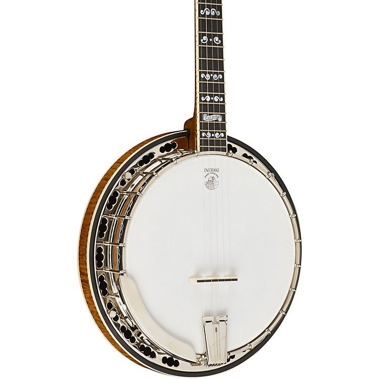 Deering Calico Banjo Natural