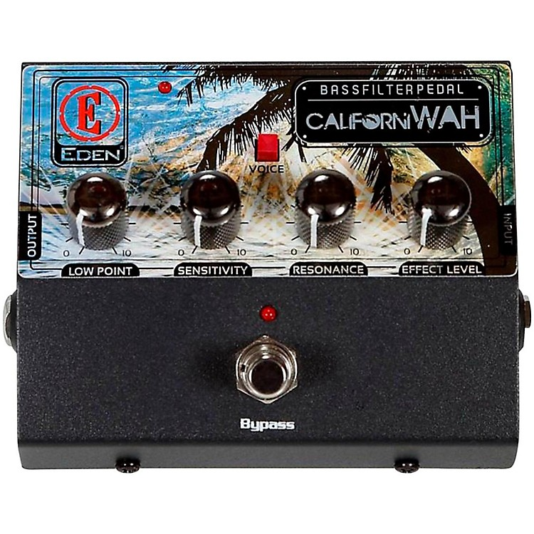 EdenCaliforniWAH Bass Filter Pedal