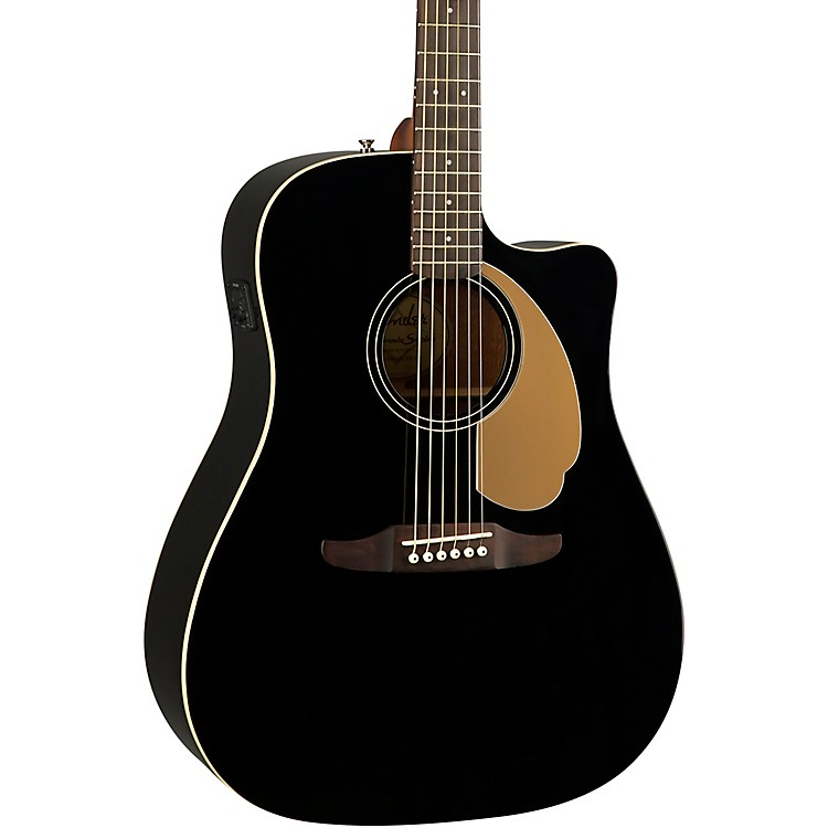 FenderCalifornia Redondo Player Acoustic-Electric GuitarCandy Apple Red