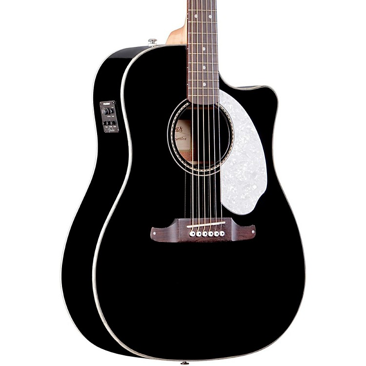 FenderCalifornia Series Sonoran SCE Cutaway Dreadnought Acoustic-Electric GuitarBlack