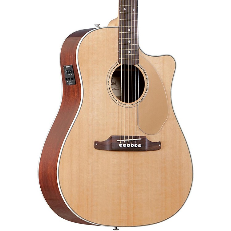 Fender California Series Sonoran SCE Cutaway Dreadnought Acoustic-Electric Guitar Natural