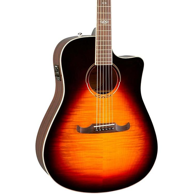 FenderCalifornia Series T-Bucket 300CE Cutaway Dreadnought Acoustic-Electric Guitar3-Color Sunburst