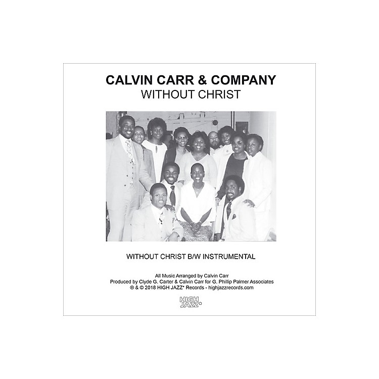 AllianceCalvin Carr & Company - Without Christ