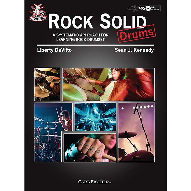 Carl FischerCamp Jam: Rock Solid for Drums Book/CD