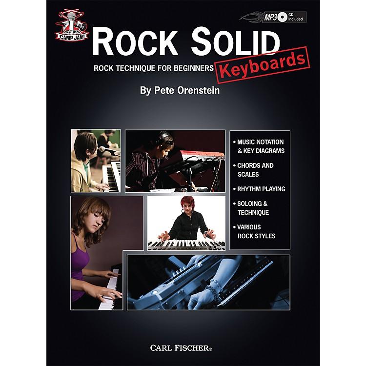 Carl FischerCamp Jam: Rock Solid for Keyboards Book/CD
