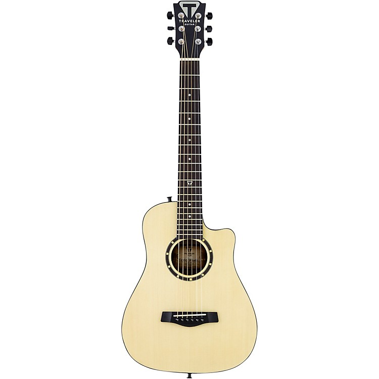 Traveler Guitar Camper Series CS10 Acoustic Travel Guitar Satin Natural