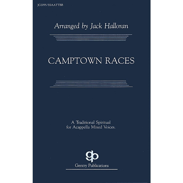Fred Bock MusicCamptown Races SATB arranged by Jack Halloran