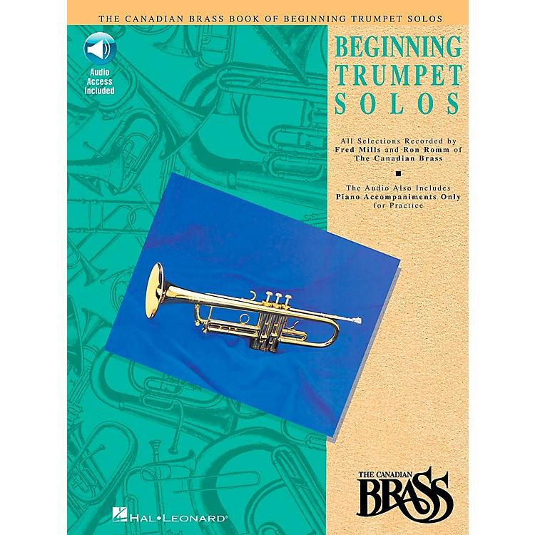 Hal LeonardCanadian Brass Beginning Trumpet Book/CD