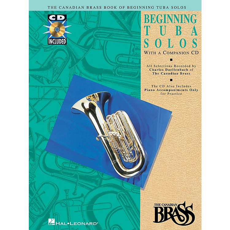 Hal Leonard Canadian Brass Book of Beginning Tuba Solos Brass Series Softcover with CD Composed by Various