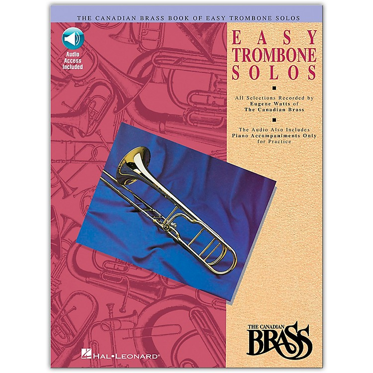 Hal Leonard Canadian Brass Easy Trombone (Book/Online Audio)