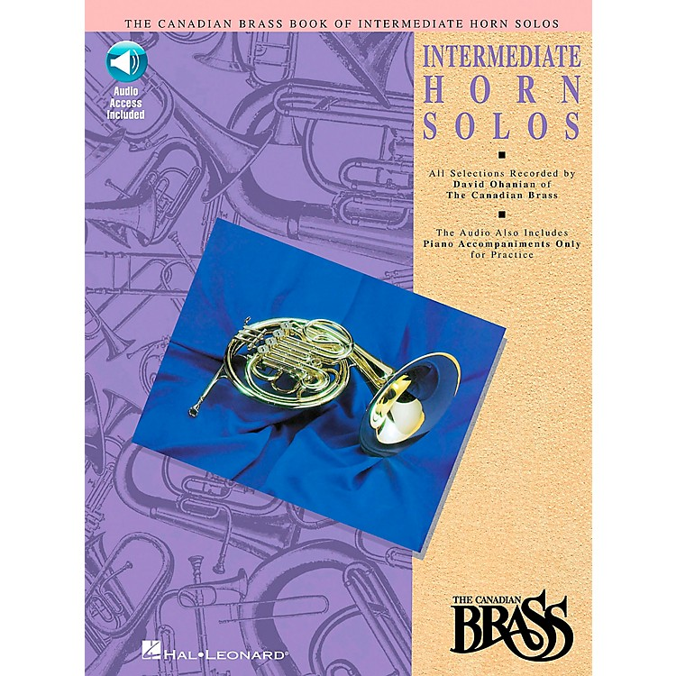 Hal LeonardCanadian Brass Intermediate Horn Solo CD/Pkg