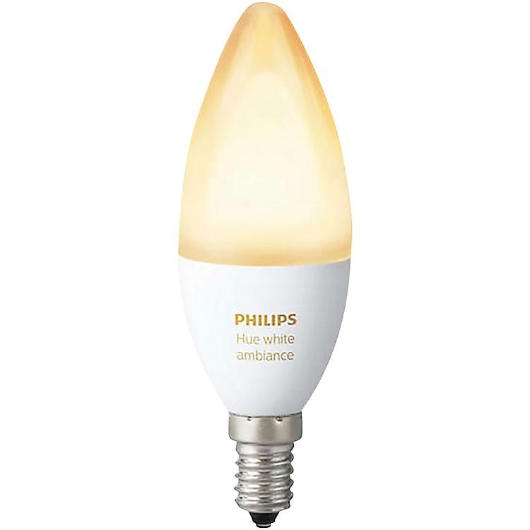 Philips HueCandelabra White Ambiance 40W Equivalent E12 LED Light Bulb