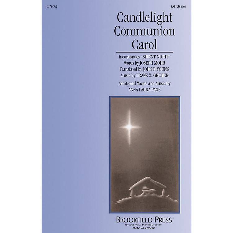 Brookfield Candlelight Communion Carol SAB composed by Anna Laura Page