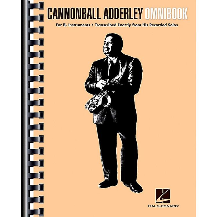Hal LeonardCannonball Adderley - Omnibook for B-Flat Instruments