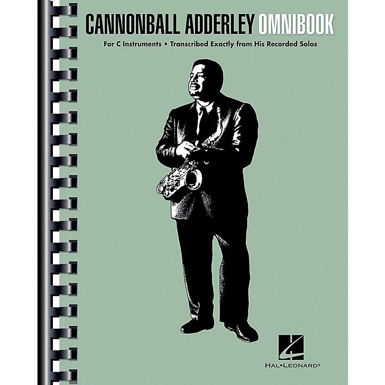 Hal LeonardCannonball Adderley - Omnibook for C Instruments
