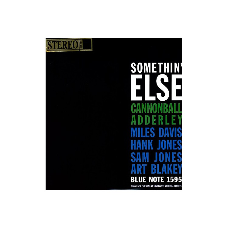 Alliance Cannonball Adderley - Somethin Else