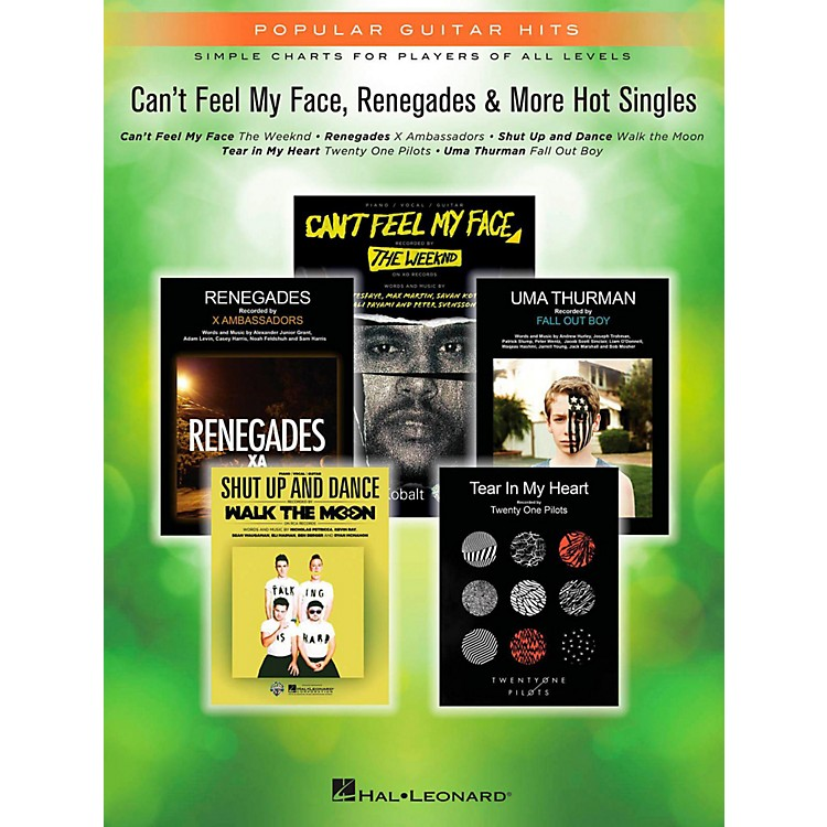 Hal Leonard Can't Feel My Face, Renegades & More Hot Singles for Easy Piano