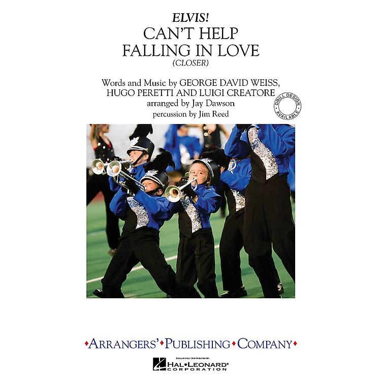 ArrangersCan't Help Falling in Love - Closer Marching Band Level 3 by Elvis Presley Arranged by Jay Dawson