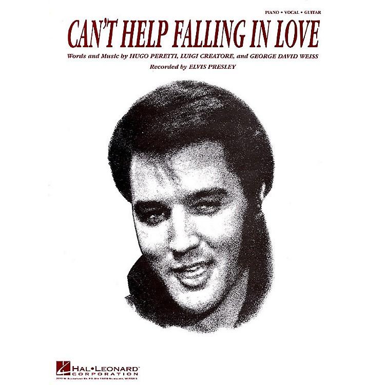 Hal LeonardCan't Help Falling in Love Easy Piano Series Performed by Elvis Presley (Easy)