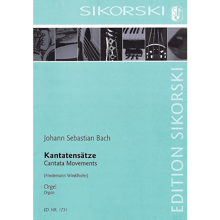 SikorskiCantata Movements Organ Collection Series
