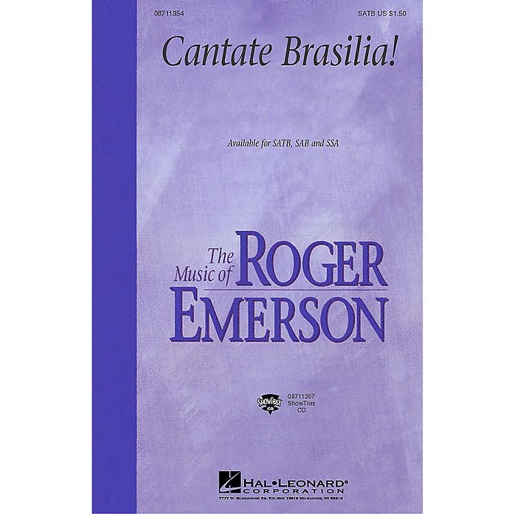 Hal LeonardCantate Brasilia (SAB) SAB Composed by Roger Emerson