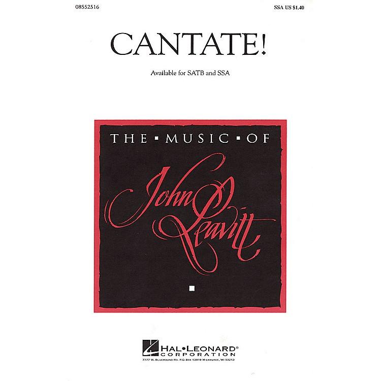 Hal LeonardCantate! SSA composed by John Leavitt