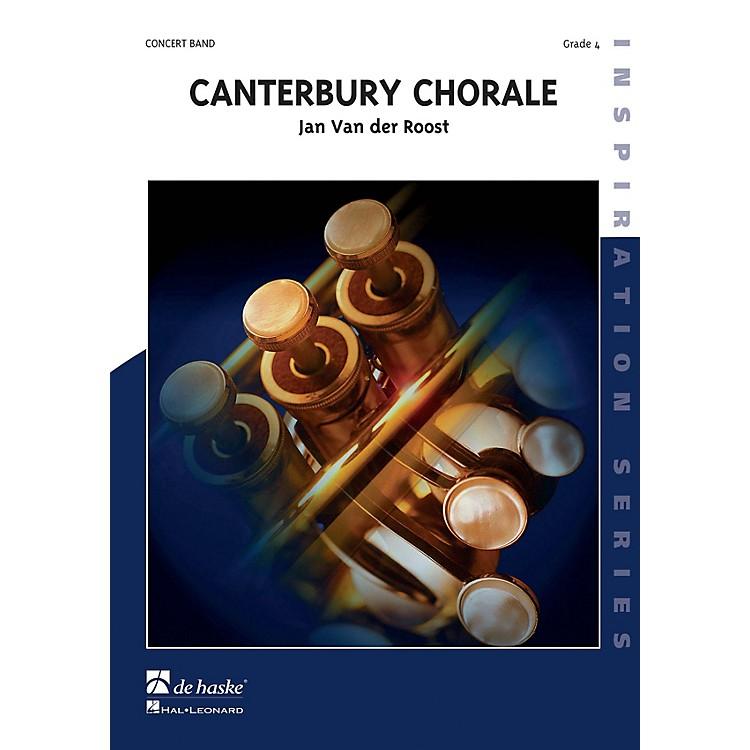 De Haske MusicCanterbury Chorale Concert Band Level 3 Composed by Jan Van der Roost