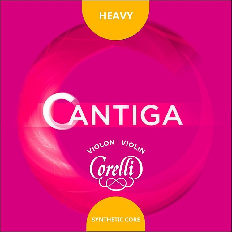 CorelliCantiga Violin String Set4/4 SizeHeavy Loop End E