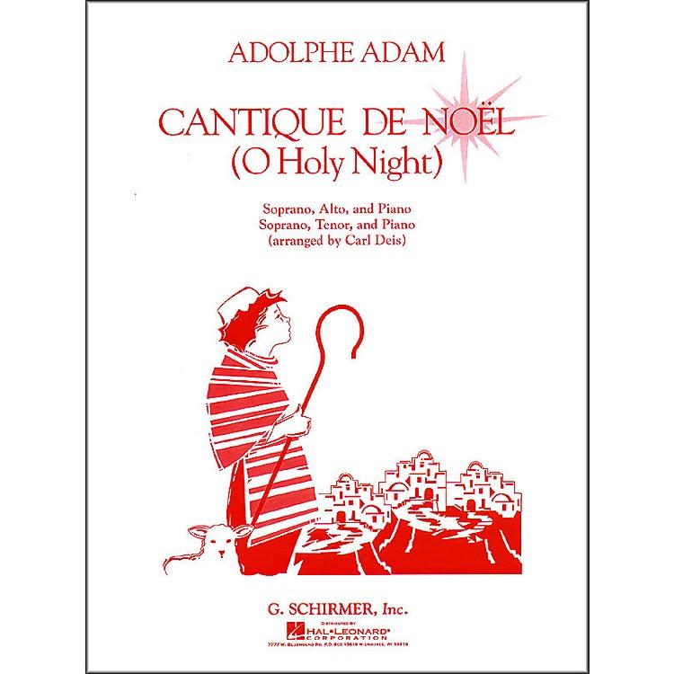 G. SchirmerCantique De Noel  (O Holy Night) Vocal Duets