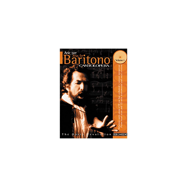 Hal Leonard Cantolopera Arias for Baritone - Volume 1 Book/CD