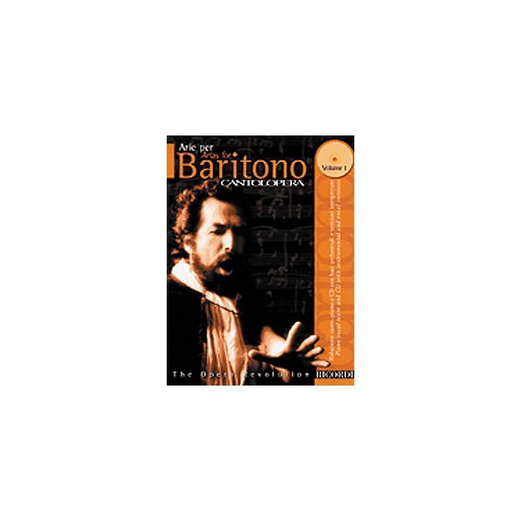 Hal LeonardCantolopera Arias for Baritone - Volume 1 Book/CD