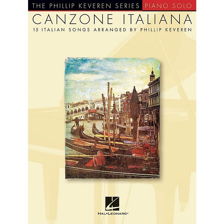 Hal LeonardCanzone Italiana - 15 Italian Songs Arranged By Phillip Keveren for Piano Solo