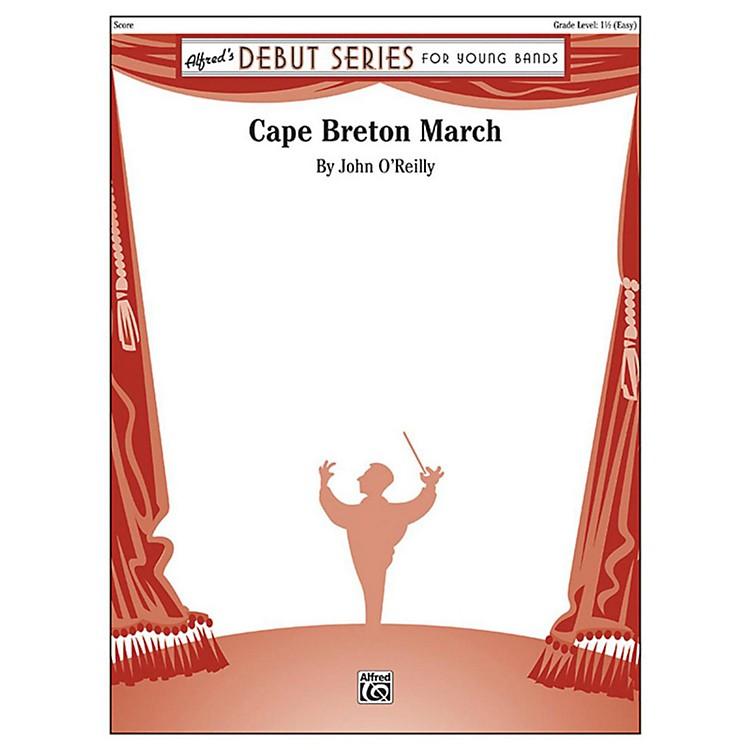 AlfredCape Breton March Concert Band Grade 1.5