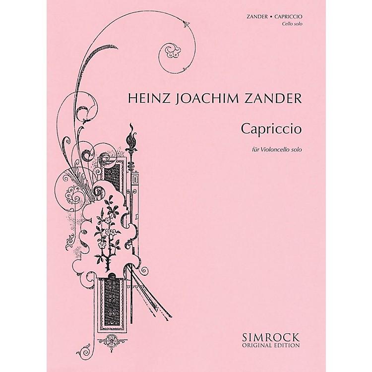 SimrockCapriccio (Cello Solo) Boosey & Hawkes Chamber Music Series