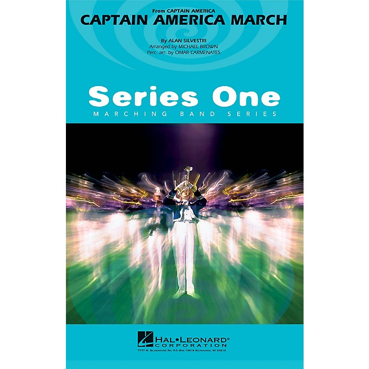 Hal LeonardCaptain America March Marching Band Level 2 Arranged by Michael Brown
