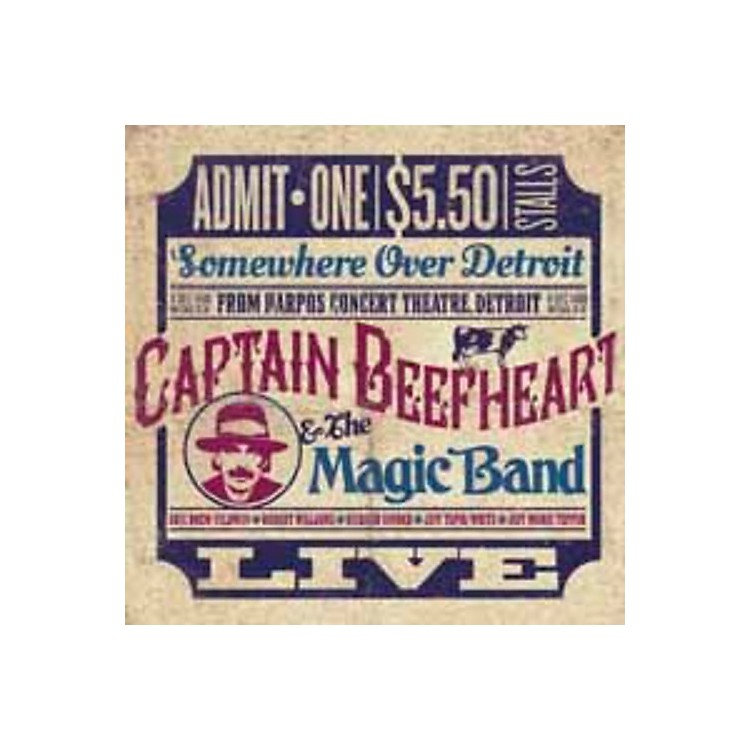 AllianceCaptain Beefheart - Somewhere Over Detroit: Live from Harpo's