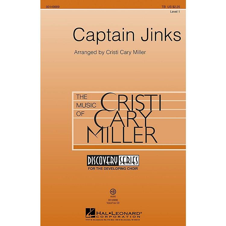 Hal LeonardCaptain Jinks (Discovery Level 1) TB arranged by Cristi Cary Miller