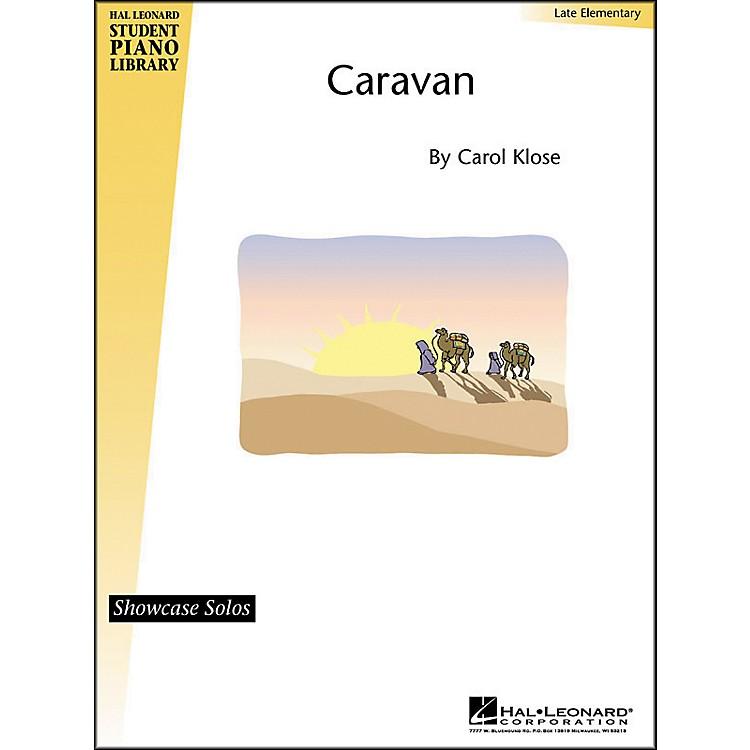 Hal LeonardCaravan Late Elementary Hal Leonard Student Piano Library by Carol Close