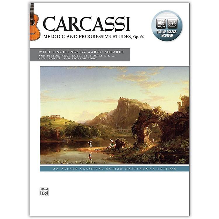 AlfredCarcassi: Melodic and Progressive Etudes Op. 60